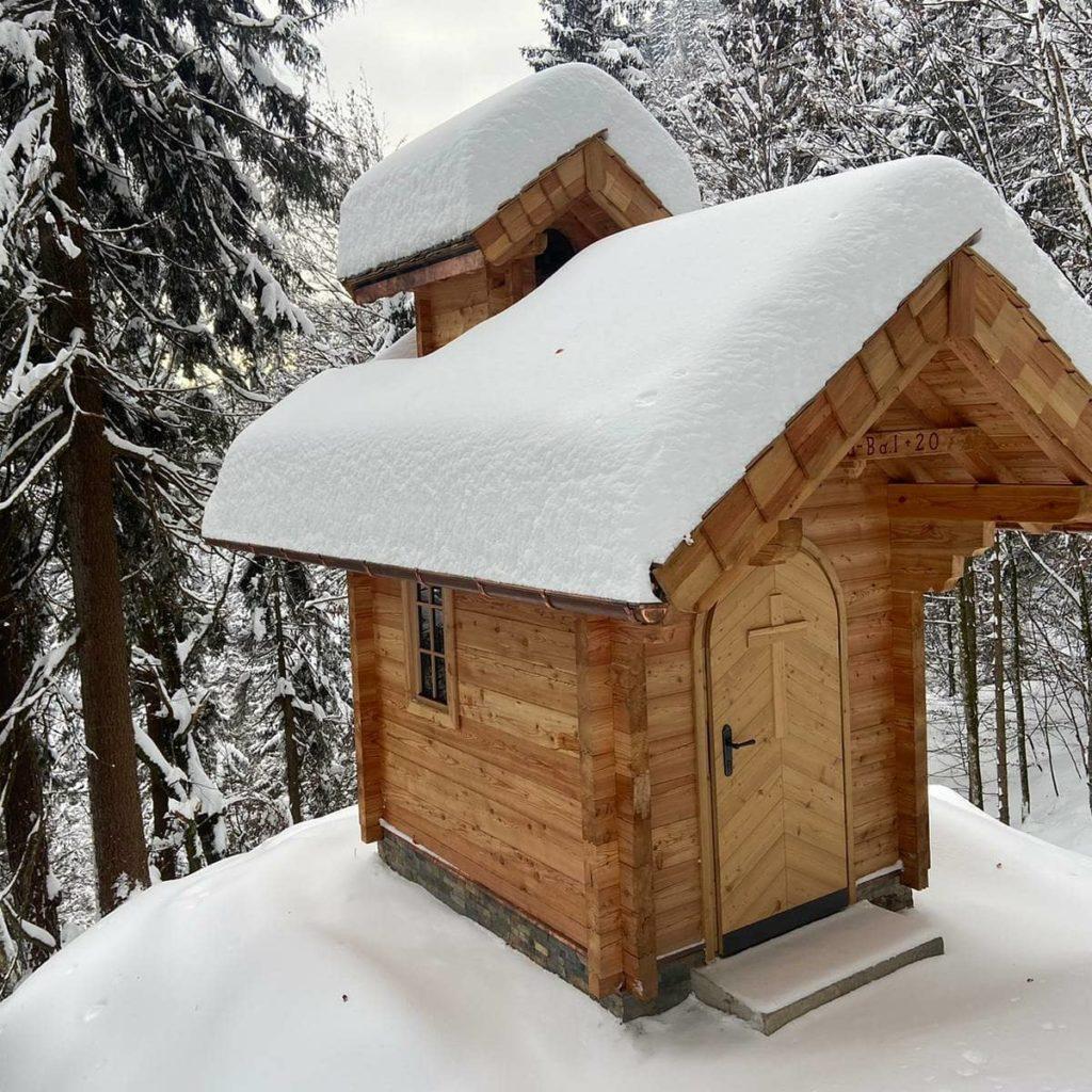 Kapelle aus Holz